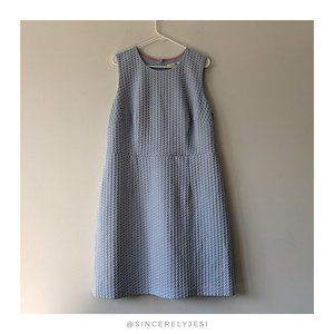 Boden ▪ Audrey Square Jacquard Sheath Dress